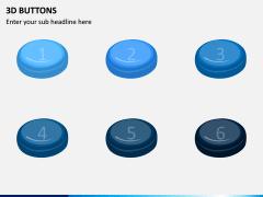 3d Buttons PPT Slide 5