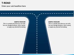 T Road PPT Slide 1