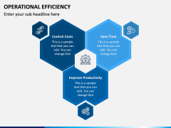 Operational Efficiency PPT Slide 5