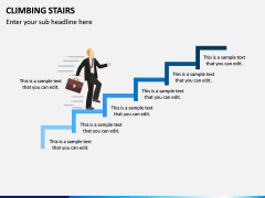 Climbing Stairs PPT Slide 2