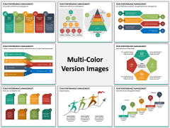 Team Performance Management Multicolor Combined