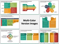 Supplier Relationship Management Multicolor Combined