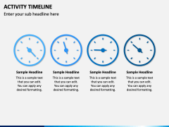 Activity Timeline PPT Slide 3