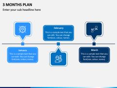 3 Months Plan PPT Slide 4