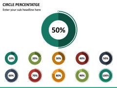 Circle Percentage PPT Slide 5