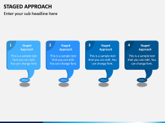 Staged Approach PPT Slide 2