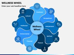 Wellness Wheel PPT Slide 2
