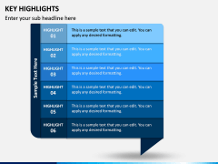 Key Highlights PPT Slide 2