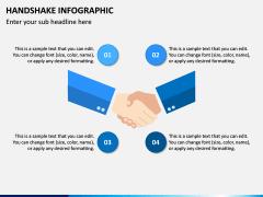 Handshake Infographic PPT Slide 1