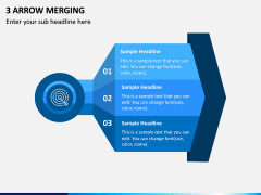 3 Arrow Merging PPT Slide 1