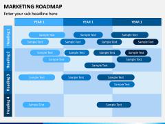 Marketing Roadmap PPT Slide 5