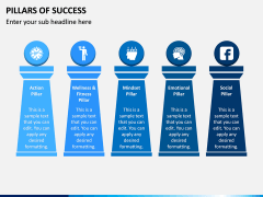 Pillars of Success PPT Slide 3