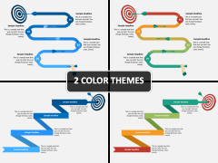 Timeline With Target PPT Cover Slide