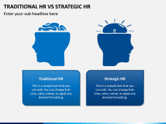 Traditional HR Vs Strategic HR PPT Slide 2