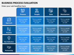 Business Process Evaluation PPT Slide 1