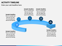 Activity Timeline PPT Slide 2
