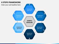 6 Steps Framework PPT Slide 1