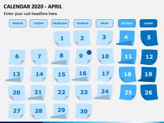 Calendar 2020 PPT Slide 4