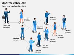 Creative Organizational Chart PPT Slide 8