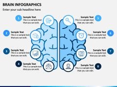 Brain Infographics PPT Slide 4