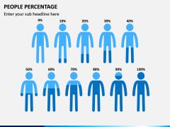 People Percentage Icons PPT Slide 5