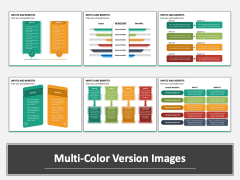 Inputs and Benefits Multicolor Combined