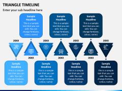 Triangle Timeline PPT Slide 2