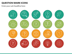 Question Icons PPT Slide 4