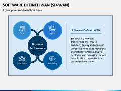 Software Defined WAN PPT Slide