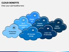 Cloud Benefits PPT Slide 1