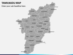 Tamilnadu Map PPT Slide 2