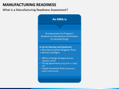 Manufacturing Readiness PPT Slide 5