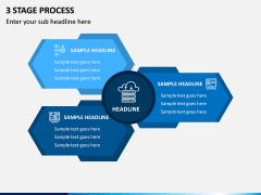 3 Stage Process PPT Slide 1