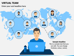 Virtual Team PPT Slide 4