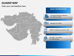 Gujarat Map PPT Slide 3