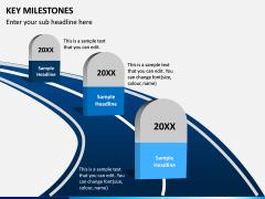 Key Milestones PPT Slide 1