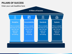 Pillars of Success PPT Slide 4