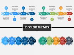 Linear Timeline PPT Cover Slide