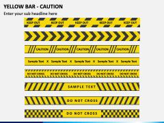 Yellow Bar - Caution PPT Slide 1