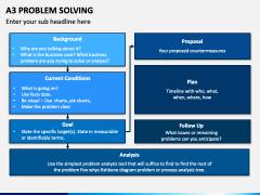 A3 Problem Solving PPT Slide 1