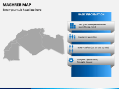 Maghreb Map PPT Slide 3