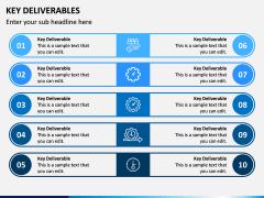 Key Deliverables PPT Slide 9