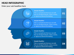 Head Infographics PPT Slide 6