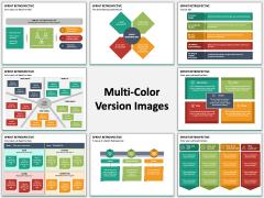 Sprint Retrospective PPT Multicolor Combined
