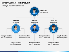 Management Hierarchy PPT Slide 4