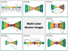 Bow Tie Funnel Multicolor Combined