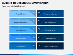 Barriers to Effective Communication PPT Slide 2