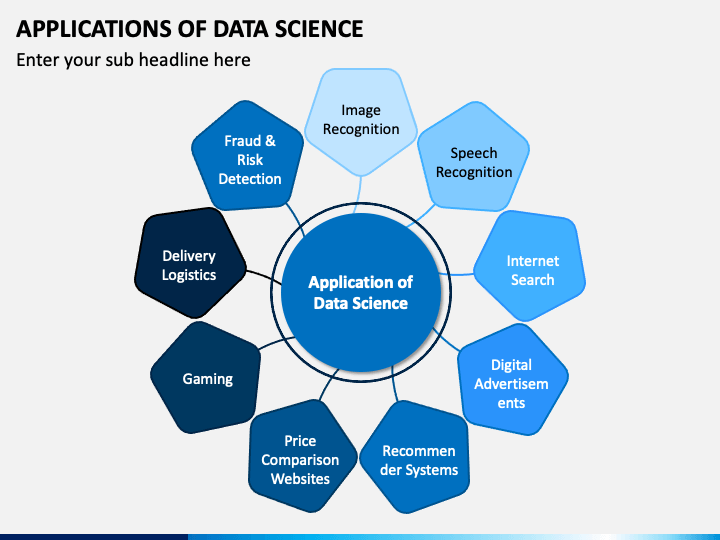 Applications of Data Science PPT Slide 1