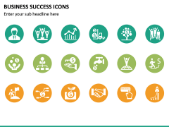 Business Success Icons PPT Slide 4