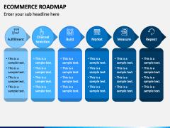 Ecommerce Roadmap PPT Slide 1